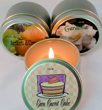 6 Oz Candle Tin