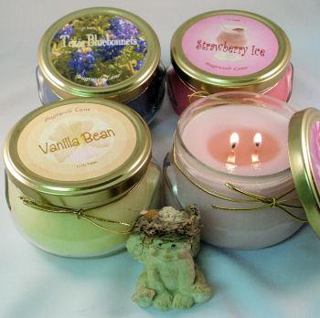 11 Oz Glass Candle Tureen