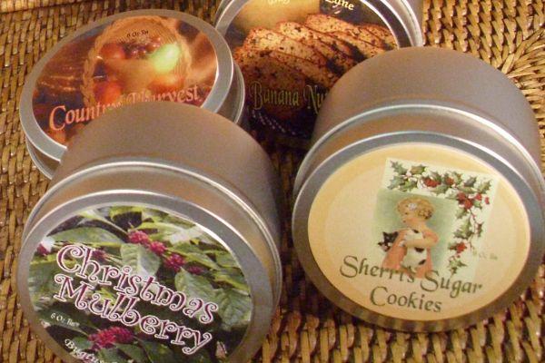 Seasonal 6 Oz Candle Tin